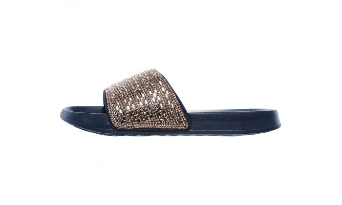 new style & luxury really comfortable newest style of Skechers 2nd Take - Summer Chic Sandals - Navy