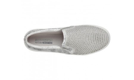 Skechers Goldie - Shiny Shaker - Silver